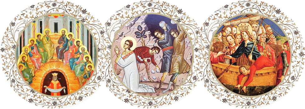 """Parohia """"Pogorârea Sfântului Duh, Sfântul Arhidiacon și Protomartir Ștefan și Sfânta Ursula cu Însoțitoarele ei"""",  Köln, Germania"""
